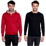 Men's Cotton Blend Sweatshirt & Full Sleeves  T-Shirt @ Rs 639 + Free Shipping
