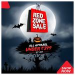 Brandfactory Red Zone Sale : Buy Everything under Rs.399