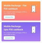 Paytm Amazing Recharge Offers
