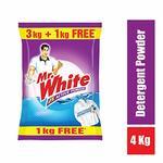 Mr. White Powder - 3KG+1kg Free (4kg) @ ₹199