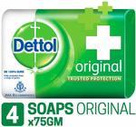 Dettol Original Soap, 75g (Pack of4)