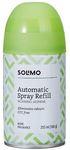 Amazon Brand - Solimo Automatic Air Freshener Refill - 250 ml (Morning Jasmine)