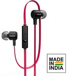 Evidson BassFlow X93 Red in-Ear Wired Earphones (3 year warranty)