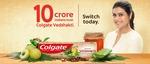 [Free sample] Colgate Vedshakti Toothpaste