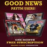 Free India Today Digital Magazines 1 Month @ Paytm