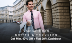 Paytmmall || Man-Datory Fashion sale ( 8th -10th Nov ) 50-80% off + Extra Paytm cashback + Add 10% extra cashback on Yes bank credit card