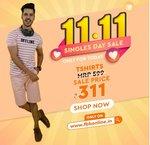 FBB : Singles Day Sale [11.11]  || T-shirts @ ₹311