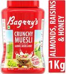 Pantry Bagrry's Crunchy Muesli Crunchy Oat Clusters With Almonds,Raisins & Honey , 1000g
