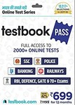 Testbook.com Pass - 1 Year Subscription (Activation Key Card) Rs.299 @ Amazon