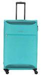 Kamiliant by American Tourister Zaka Polyester 78 cms Aquamarine Softsided Check-in Luggage (KAM ZAKA SP 78 cm - Aquamarine)