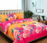 Double Bedsheets With 2 Pillow Covers