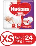 huggies xs 24 unit at 29 rs.