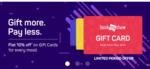 10% off on Bookmyshow E-gift cards(plus extra Cashback via amazon Pay)