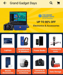 (Last day) Flipkart Grand gadget Days : upto 80% off + 10% discount on Federal bank debit card