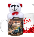 Hot Muggs with Teddy and Card  Starting @ Rs. 199