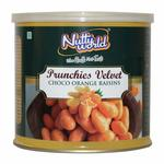Nutty World Prunchies Velvet- Choco Orange Raisins 175 g, Tin