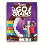 Back - Manna Go Grains - Multigrain Instant Drink Mix - 400g Pack (Chocolate Flavour) @99