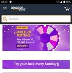Wheel of fortune (every Sunday) - Win Amazon pay balance, lucky draw