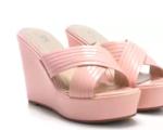 74% off on Diana Korr Women Gold Wedges Sandal Starting @ Rs. 751