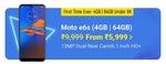 [Upcoming] Flipkart YES 21-23 Dec :- Moto E6s 4GB 64GB