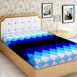 IWS 144 TC Polyester Single 3D Printed Bedsheet  (Pack of 1, Multicolor)