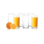 Glass Ideas TWG 1086 Alpine 6 Pcs Super Saver Juice Glass Set