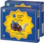 Pillsbury Cookie Cake - Greetings Gift Pack, of 2, x 480 g Rs.149