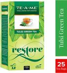 TE-A-ME Natural Tulsi Green Tea Bags (Pack of 25) Rs.76 with Subscribe n Save
