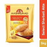 Aashirvaad Select Superior Sharbati Atta, 5kg