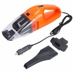 Jumix Powerful Handheld Portable and High Power Plastic 12V High Power Handheld Portable Lightweight Vacuum Cleaner for Car,Bike,Car,Cycles Car Vacuum Cleaner Super Low Sound Suction