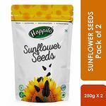 Happilo Premium Raw Sunflower Seeds (No Shells) 250g ( Pack of 2 )