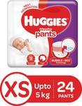 Huggies Wonder Pants Diaper - XS  (24 Pieces) at Rs.99