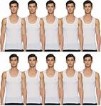 Lux Cozi Men's Scented VestSelect pack of 10