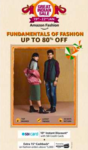 Amazon GIS 19-22 Jan :- Extra 15% Cashback on Purchase Above 5000₹ from Fashion Catagory