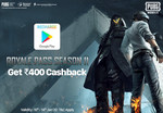 Get Rs.250 Movie voucher applied on min. 500 & Rs.150 Food voucher applied on min. 300 FREE on buying Google play Gv worth 400 on Paytm