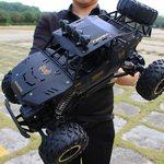XYCQ RC Car 4WD 2.4GHz climbing Car 4x4 Double Motors Bigfoot Car Remote Control Model Off-Road Vehicle Toy