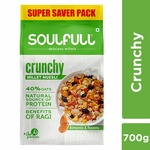 Soulfull Millet Muesli - Crunchy, Contains Almonds & Raisins- 700g   @ just Rs 249