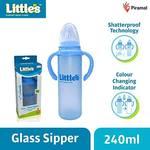 Little's Glass Sipper (Blue)