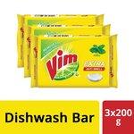 [Pantry]  Vim Anti Smell Bar - 200 g (Pack of 3)