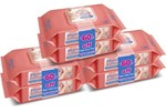 Johnson's Baby Wipes 80s (Pack of 6s) (1.64 per wipes)