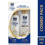 [Pantry]Parachute Advansed Coconut Crème Oil With Intense Nourishment Shampoo (Combo Of 2)