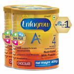 Enfagrow A+ Nutritional Milk Powder Health Drink for Children (2+ years), Chocolate 400g (Pack of 2)