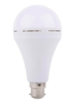 URBAN KING 9W Inverter Rechargeable Base LED B-22 Ceramic Emergency Bulb. Up to 5 Hrs Backup (Cool Day Light)