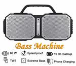50% off || Zoook Rocker Volcano 60 Watts TWS Bluetooth Party Speaker - Extra Loud - Extra Bass - IPX 5