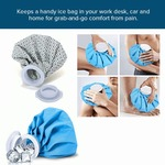 75% off  Water Bag Heat Cold Pack Sports Injury Neck Knee Pain Relief (Multi-Color)