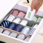 Flipzon Multipurpose Storage Drawer Socks Undergarments Organizer Set of 4, Plastic, (Colour May Vary) at 99