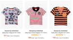 Donuts by Unlimited Baby Boys' T-Shirt Starting @ Rs. 91