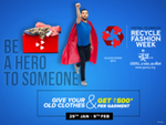 Central Recycle Fashion Week : Give your old clothes and get Rs.500 per garment (29th Jan - 9th Feb)