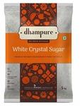 Dhampure White Crystal Sugar, 5kg at Rs. 199 [ Max. 8 Units ]