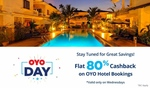 Paytm OYO Day :- Flat 80% Cashback on Oyo Hotel Bookings  (Valid only on Wednesdays)